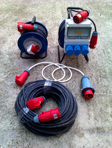 Electrical equipment 2phfe 32A 140m
